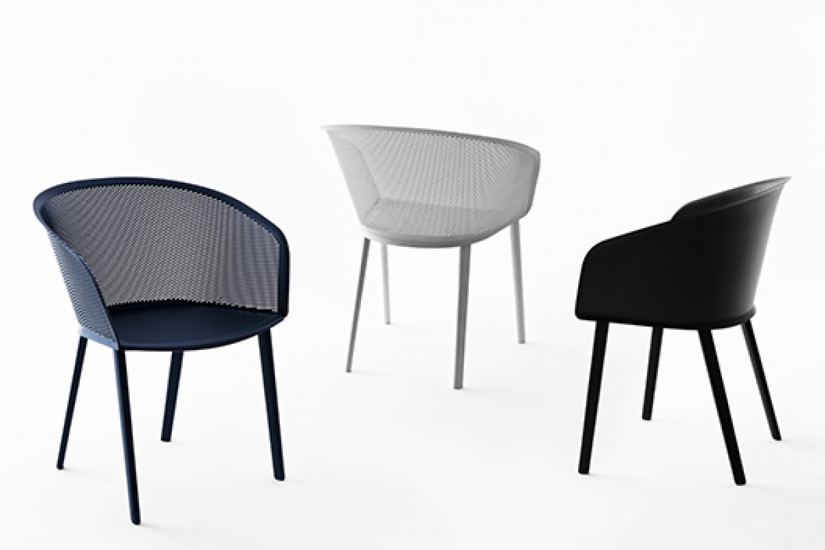 New armchair Kettal Stampa designed by Ronan & Erwan Bouroullec