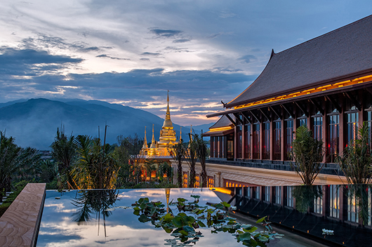 Oad Designs The New Wanda Vista Xishuangbanna Resort In