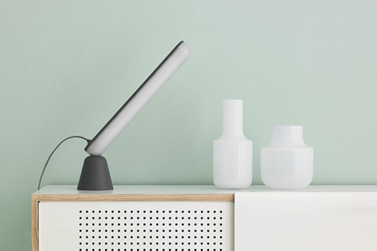 Acrobat by Marc Venot for Normann Copenhagen. A lamp with acrobatic skills