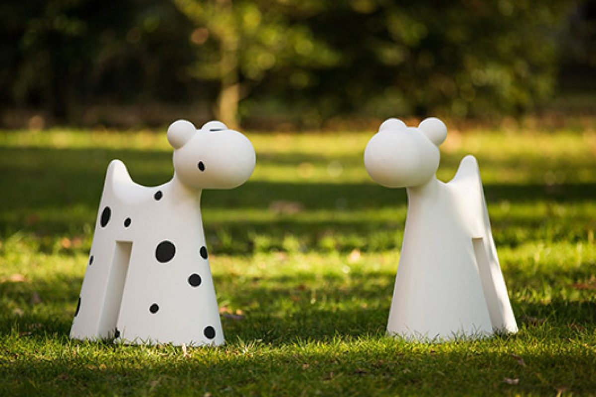 One Hundred and One Doggy. Design object by Eero Aarnio for Serralunga, today on Dalmatian version