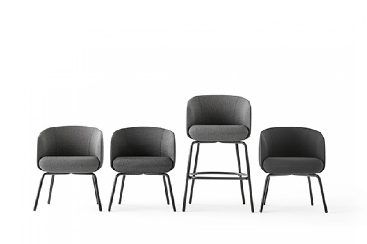 Nest collection designed by Form Us With Love for +Halle, an alternative to the traditional lounge area