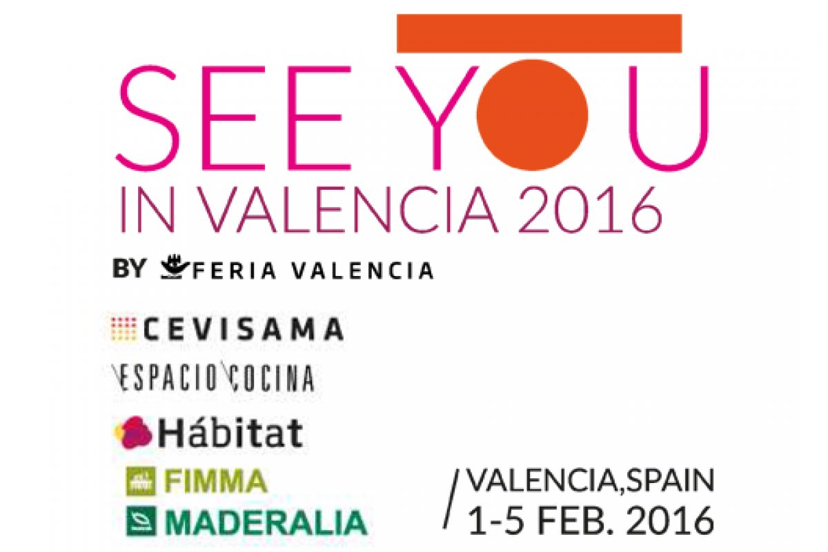 See You in Valencia 2016 open its doors and takes root as international event in interior design, architecture and industrial design