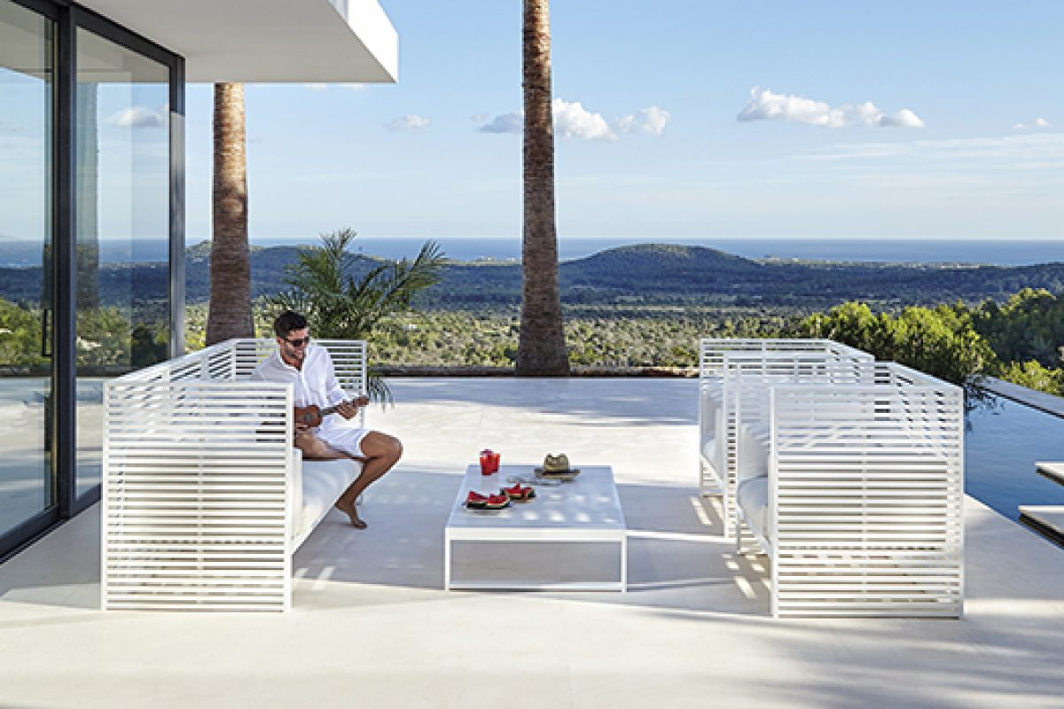 DNA by GandiaBlasco, a collection inspired by light and shade cast by Mediterranean shutters