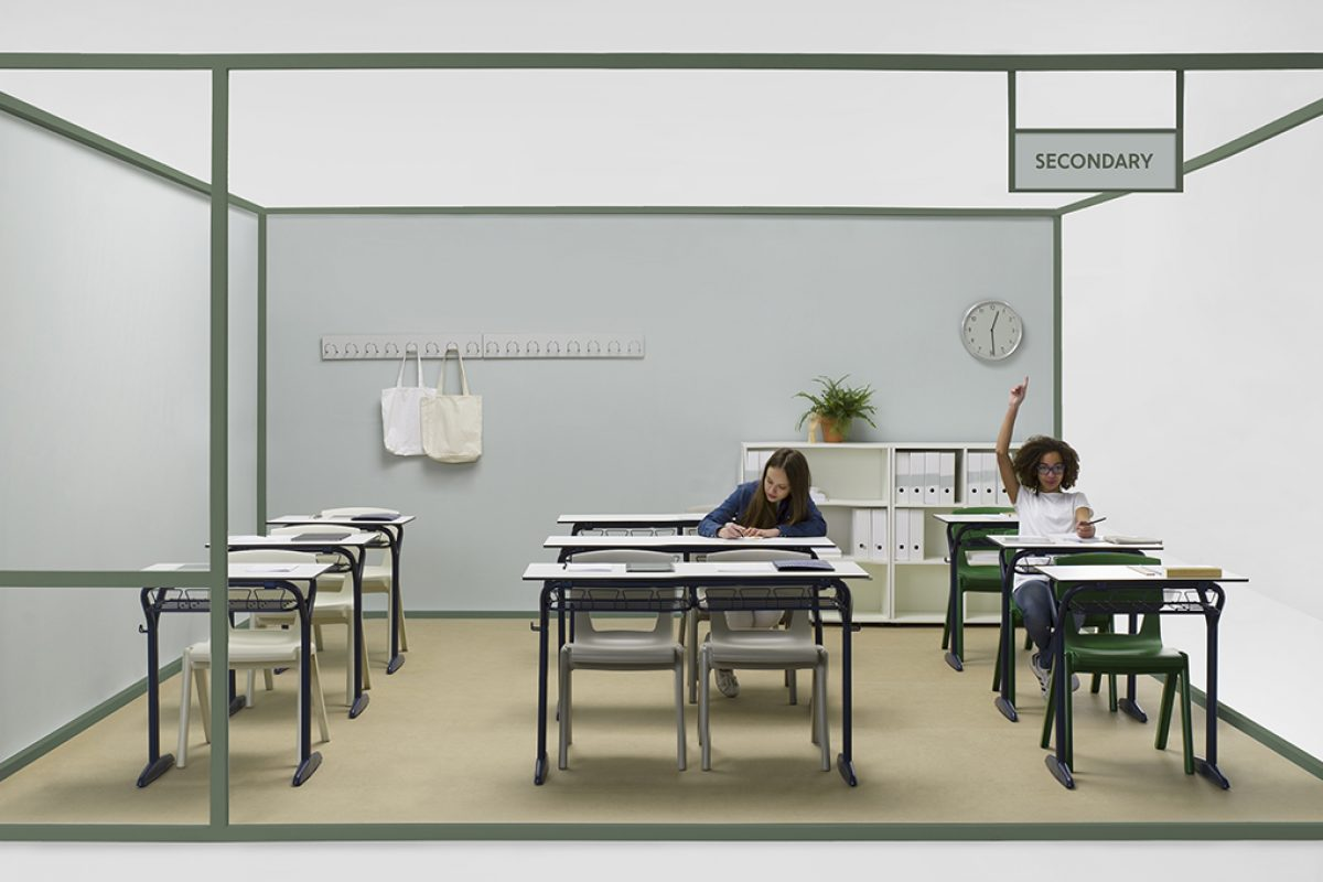 Odosdesign redesigns Federico Giner's comeback to school