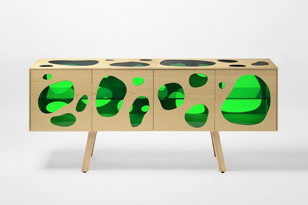 Milan 2016 preview: Aquário, the new cabinet designed by Campana Brothers for BD