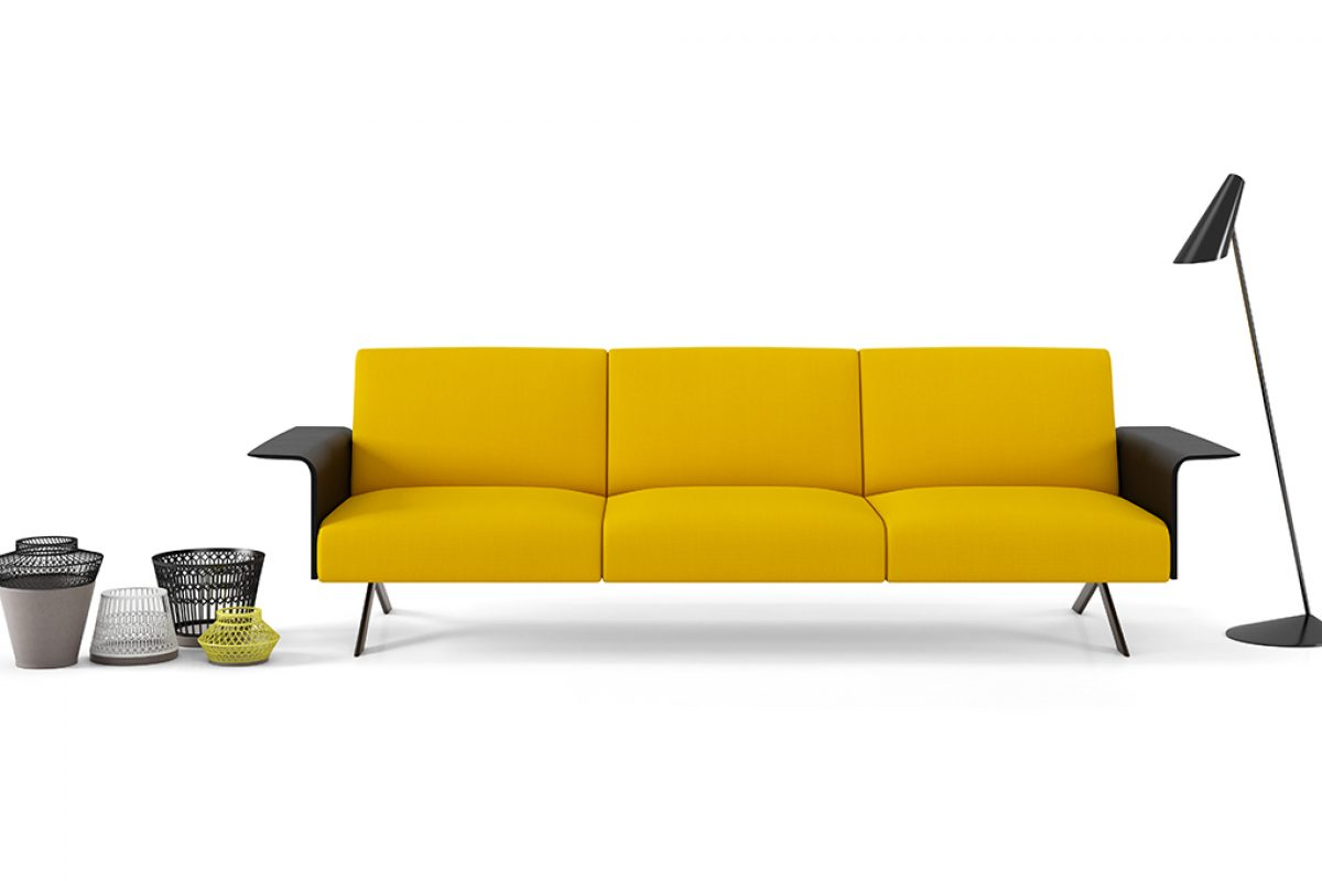 Sistema, the revolutionary customised modular sofa system by Lievore Altherr Molina for Viccarbe
