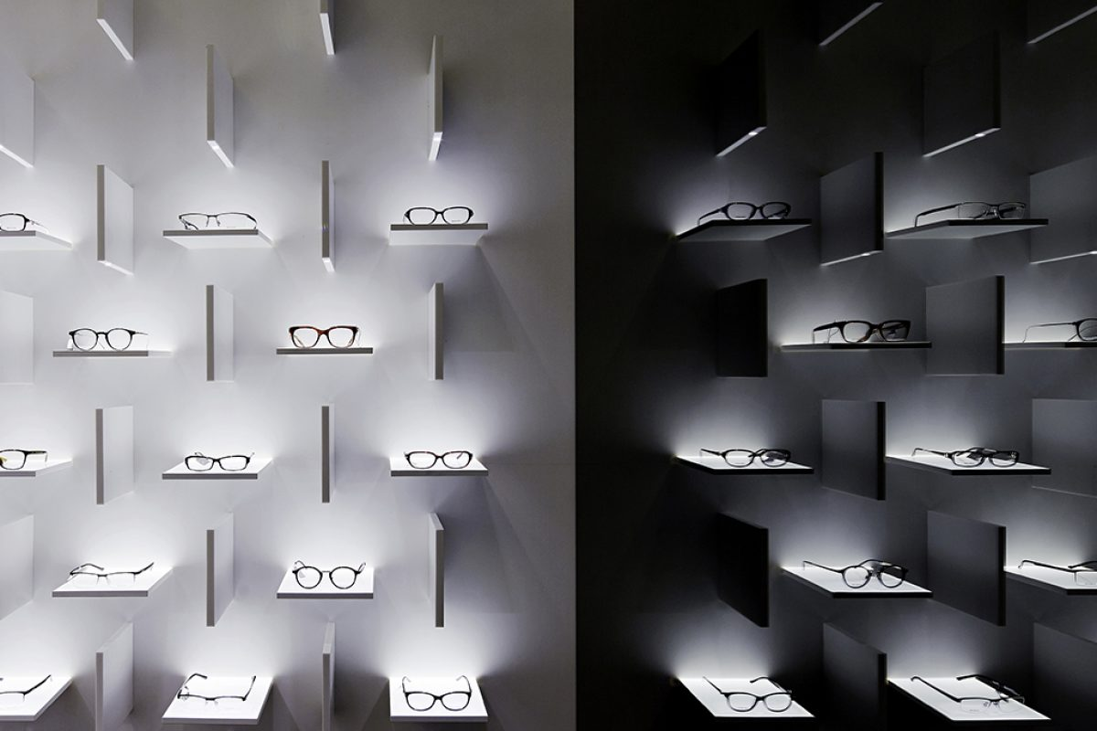 Spatial design by Ippolito Fleitz Group at the new Bolon flagship in Shanghai