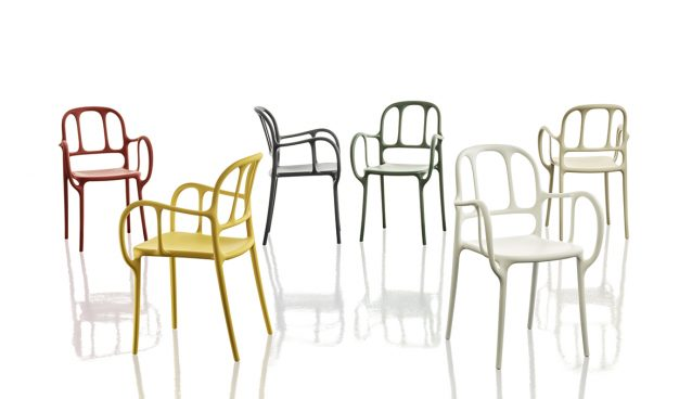 Milà, the chair by Jaime Hayón for Magis based on Catalan modernism
