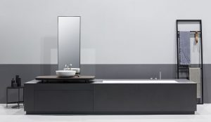 Manhattan, integrated bathtub – washbasin system, the newest of Makro