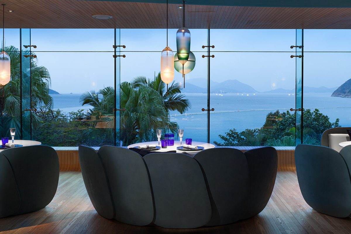 Substance celebrates the wonders of the sea in the design of The Ocean restaurant