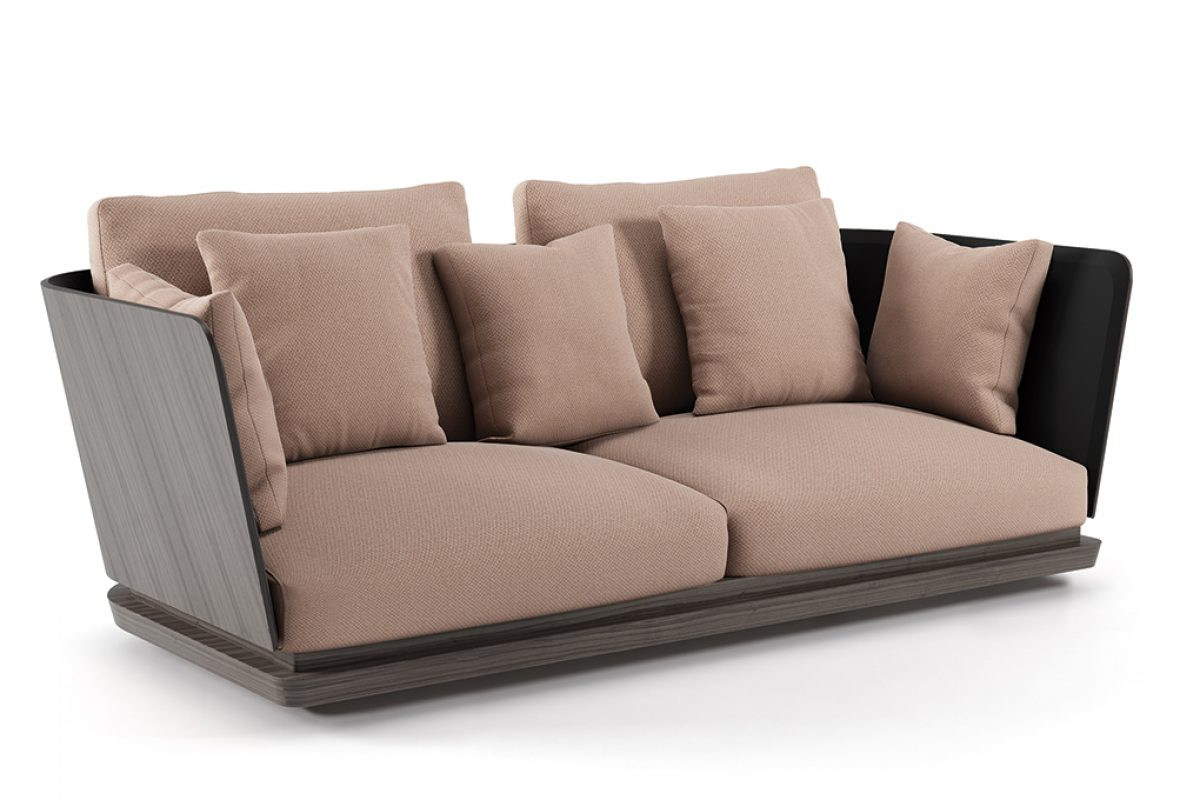 A. Cortese, the new sofa of Punt designed by Monica Armani
