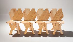 The Biennale chair by Josep Ferrando for Figueras, Delta Award of Opinion