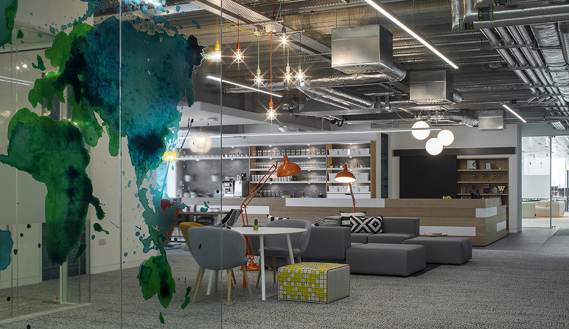 viccarbe furnished the hostelworld offices dublin designed by henry
