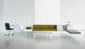 "Longo by Ramos&Bassols for Actiu, Gold award at ""The Best of Neocon"" in Chicago"