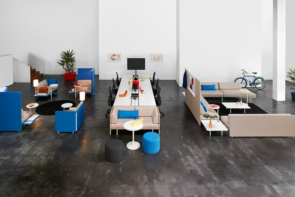Meet up! by Antoni Arola and Jordi Tamayo for Ofita. The place where new ideas are generated