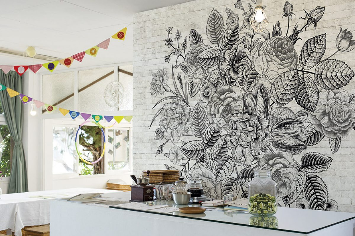 Wildlife inspired the new wallpaper collections by Texturae