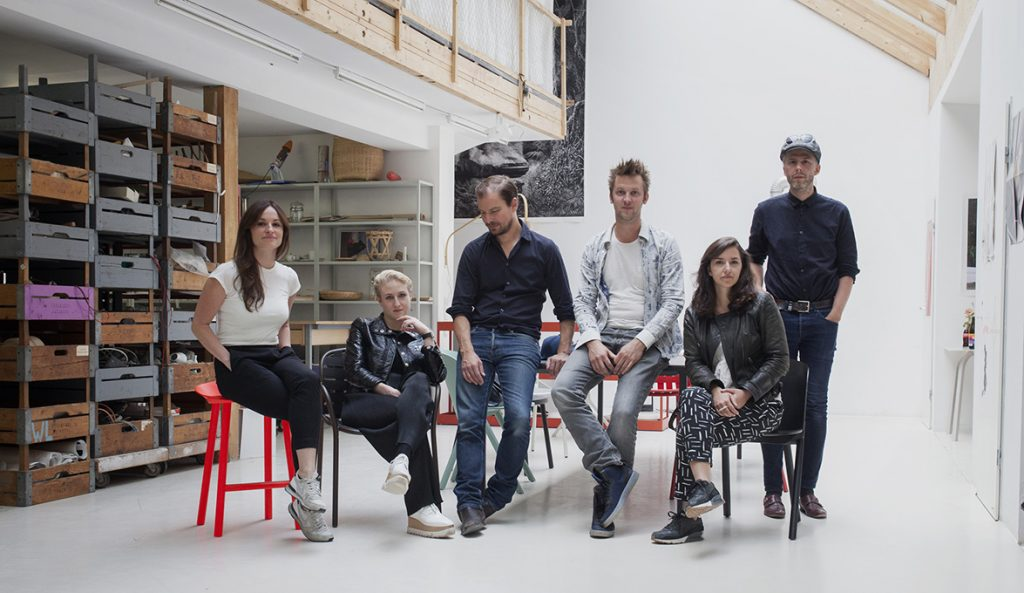 five ambitious designers and stefan diez develop pioneering floor designs for domotex 2017. Black Bedroom Furniture Sets. Home Design Ideas