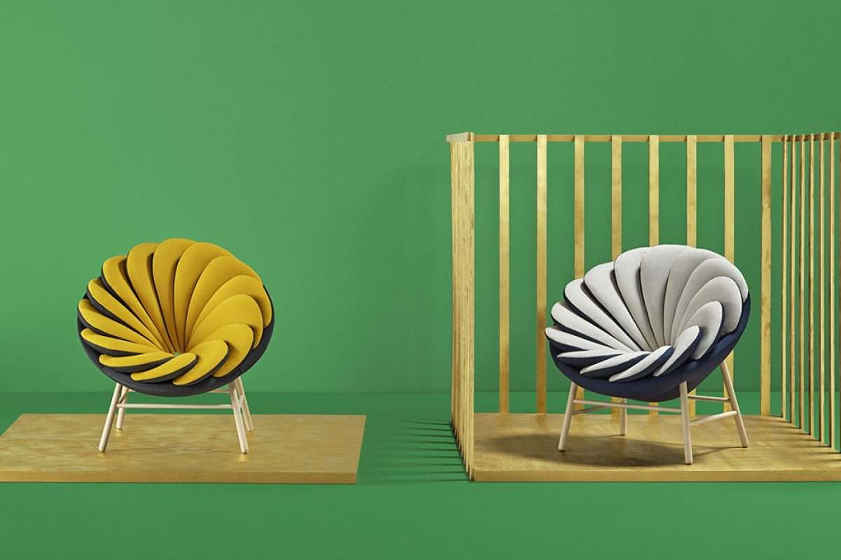 The French designer Marc Venot and his Quetzal armchair fly into Missana