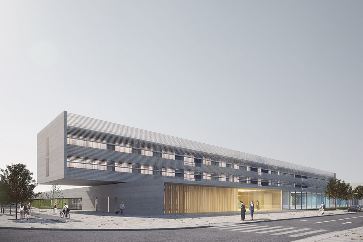 Ramón Esteve Estudio and Sulkin Marchissio Arquitectos won the architectural contest for the General Hospital of Viladecans