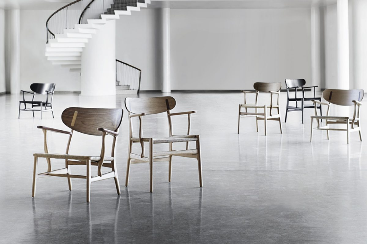 Carl Hansen & Son relaunched an early Wegner classic design