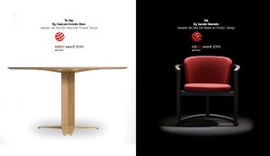 Capdell wins two Red Dot awards with designs by Claesson Koivisto Rune and Kazuko Okamoto