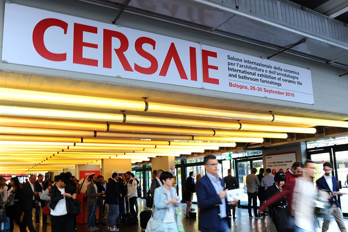 Attendance at Cersaie 2016 totals 106,599. International visitors exceed 50,000 for the first time
