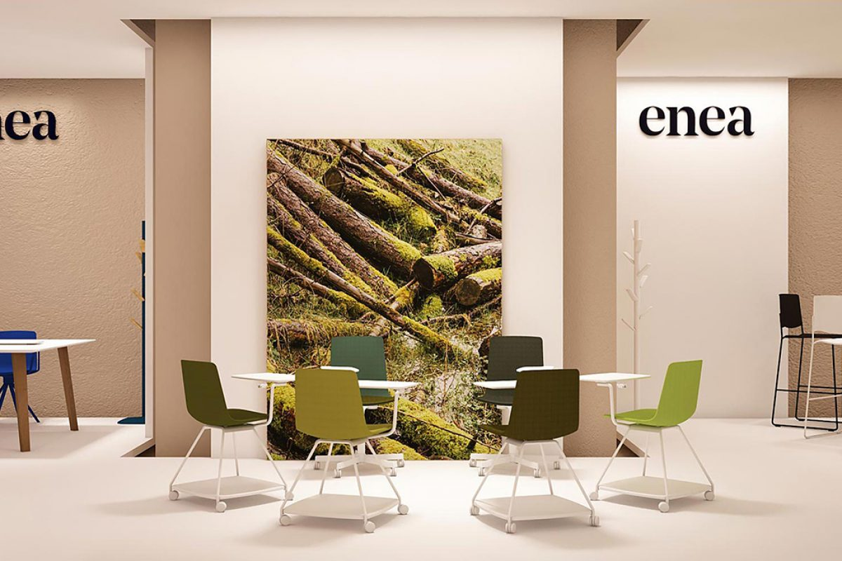 ENEA presents at Orgatec 2016 different soft office proposals designed by Estudi Manel Molina and Lievore Altherr Molina