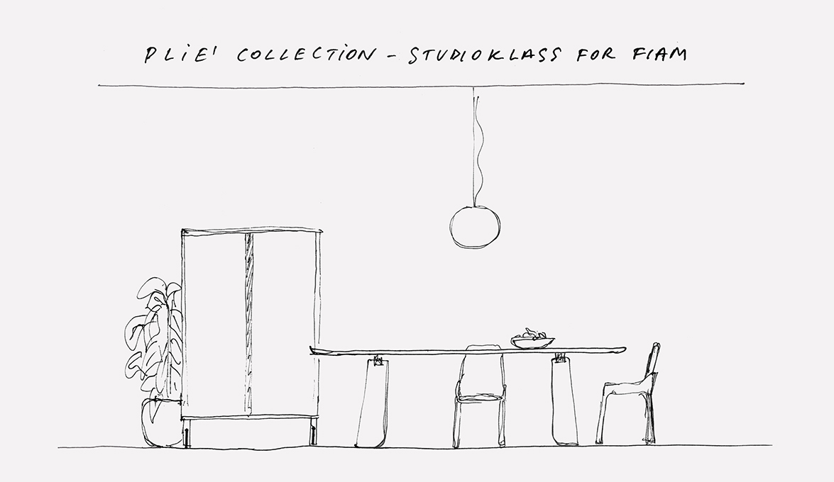 Pli collection by studio klass for fiam inspired by famous dance pli collection by studio klass for fiam inspired by famous dance step of ballet ccuart Gallery