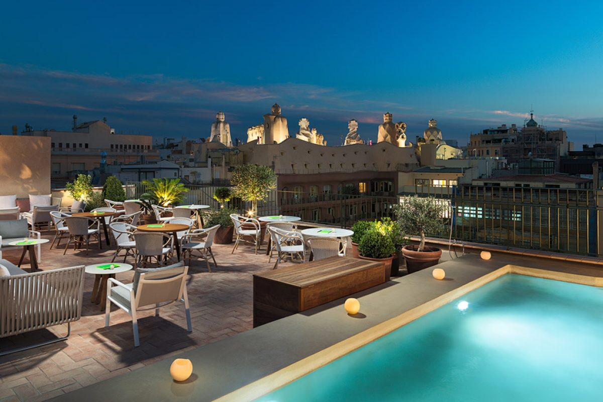 Kettal to furnish outdoor areas of H10 Casa Mimosa hotel in Barcelona