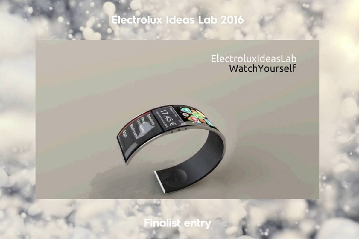 WatchYourself, inspired by healthy, sustainable eating, wins the Electrolux Ideas Lab competition