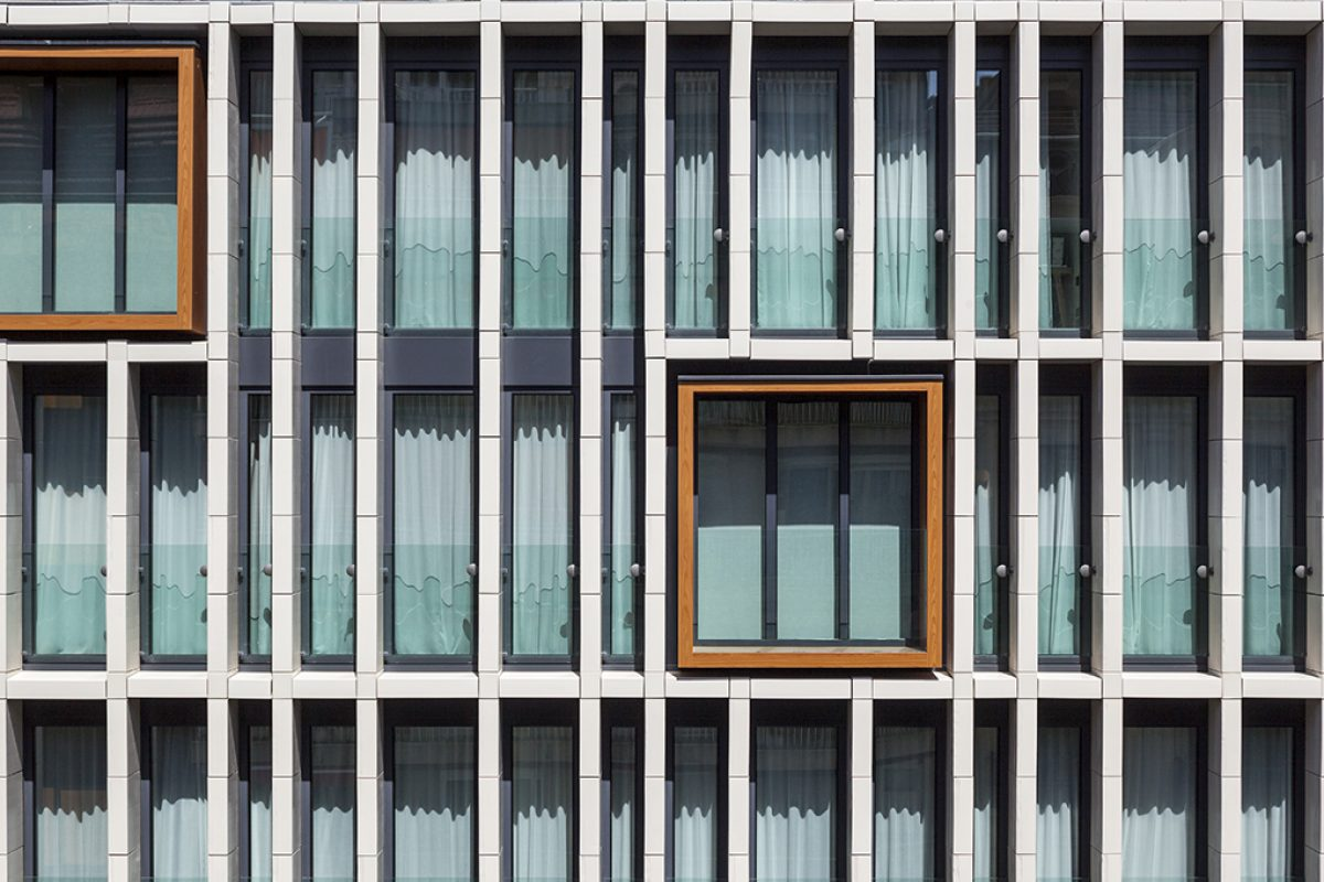 Wicona on the façade of Hotel Ohla Eixample: rhythmic, harmonious and full of algorithms