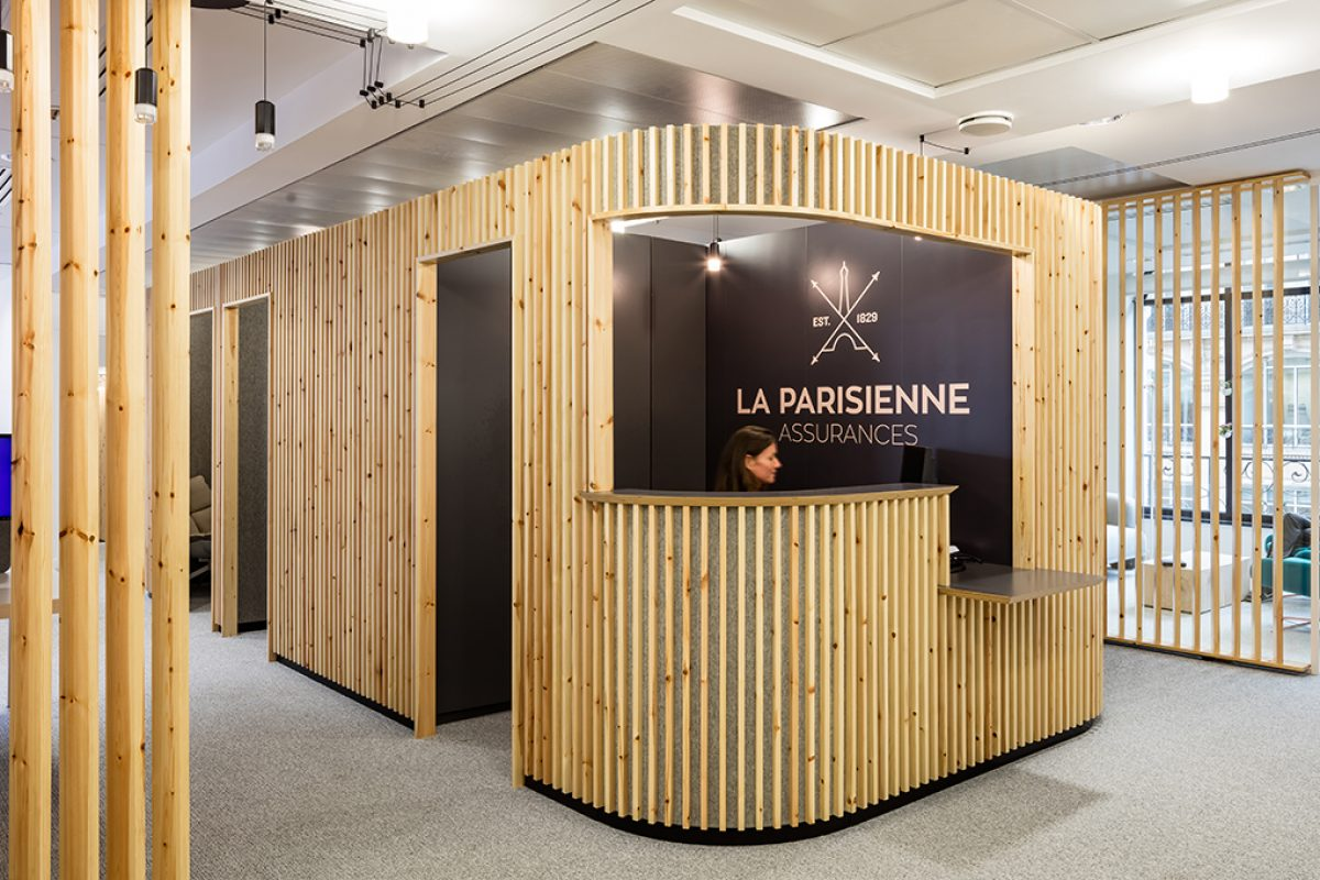 Studio Razavi chooses Vibia to light the new offices of La Parisienne Assurances in Paris