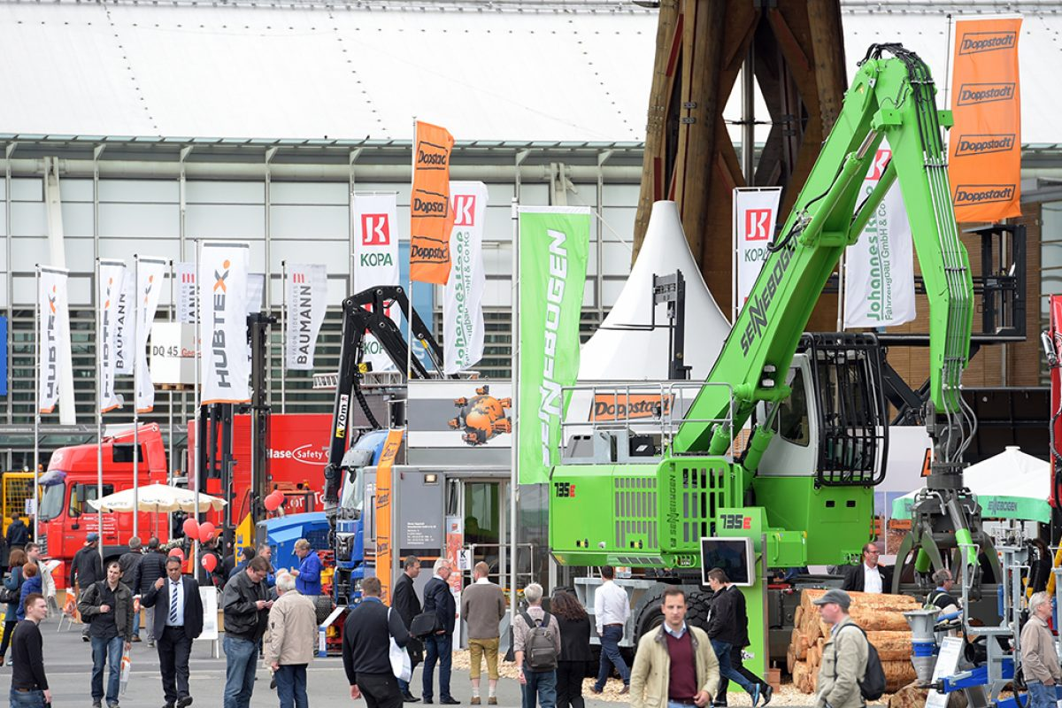 LIGNA will present from 22 to 26 May 2017 the ultimate in forestry technology