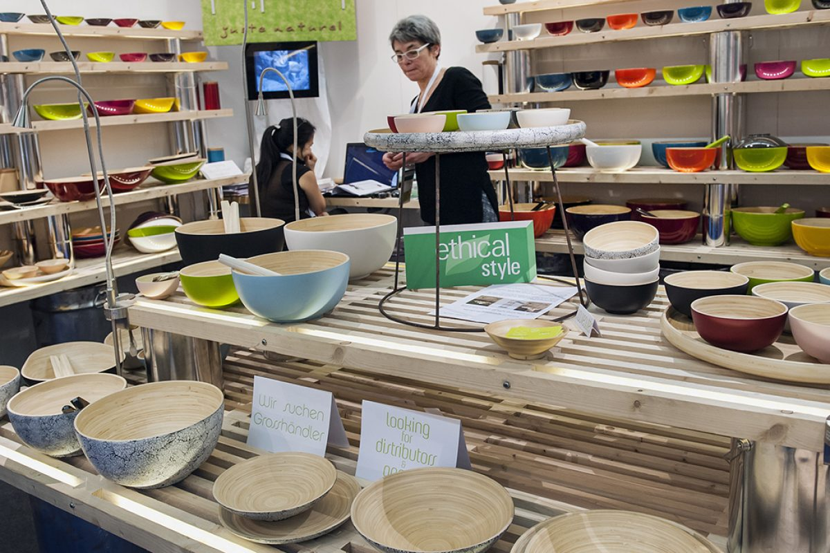 Green Conscience: Over 220 exhibitors in the Ethical Style Guide at Ambiente 2017