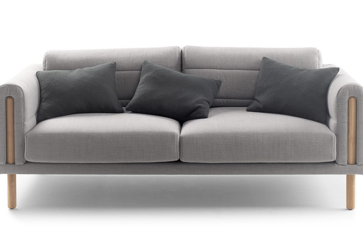 Silvia Ceñal designed the sofa Abric for French company Bosc