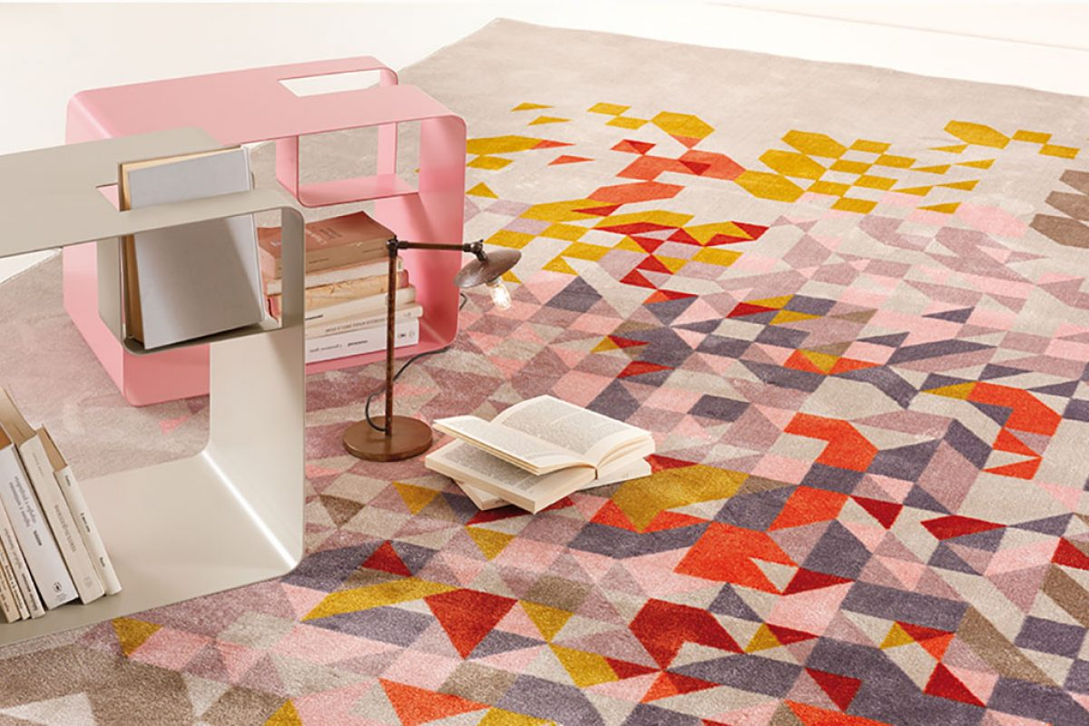 Taste of Colors, the collection designed by edeestudio with which MEMEDESIGN enters the world of carpets
