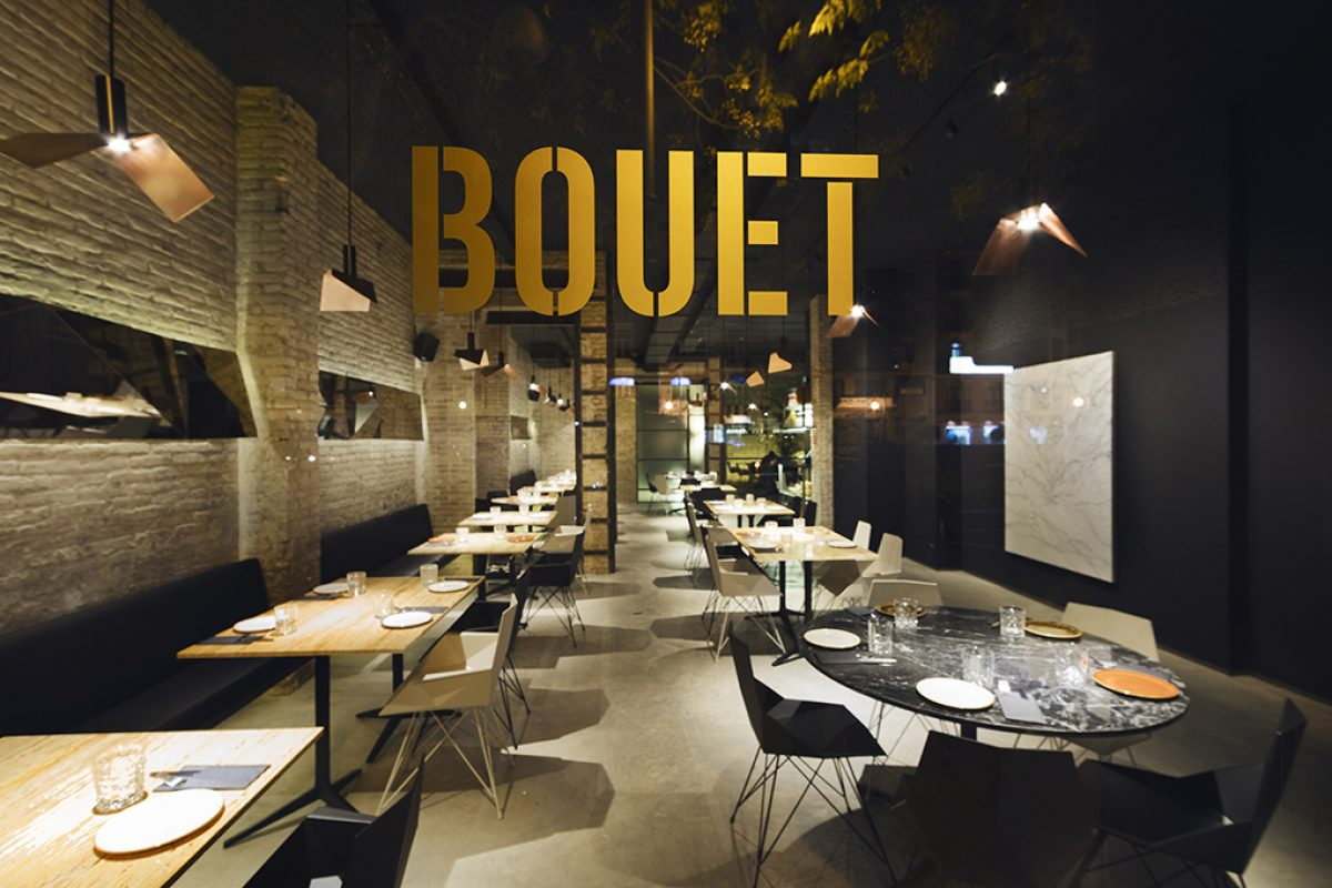 The gastronomy as a hedonistic and sensorial experience. The concept behind the design of new Bouet by Ramón Esteve