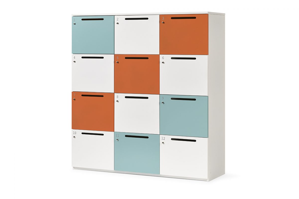 "Ofita presents Lock Lock, the locker created for the ""non-territorial"" offices"