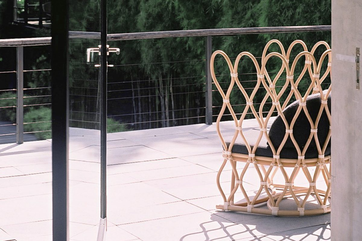Salone del Mobile.Milano preview: New designs by Alvin Tjitrowirjo for the Japanese company Yamakawa Rattan