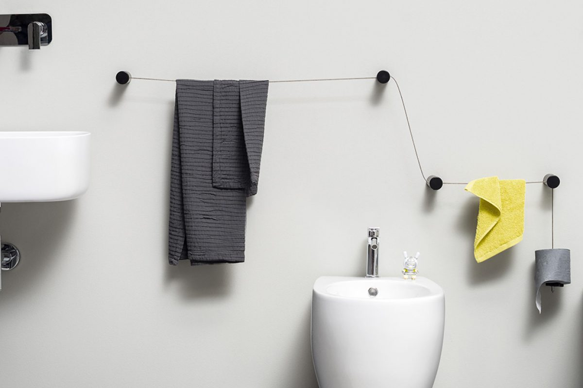 Ever Life Design presents DOT designed by Monica Graffeo, the democratic and modular solution for bathroom accessories