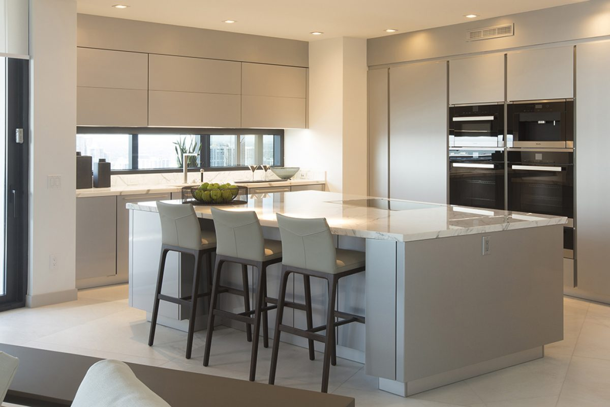 Premiere for the world's first Porsche Design Tower in Miami with luxury kitchens from Poggenpohl