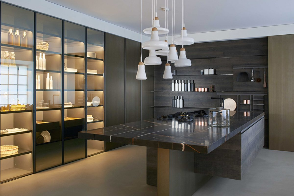 The Estivale kitchen by Benedini Associati for Key Cucine shows masterly at Agape 12