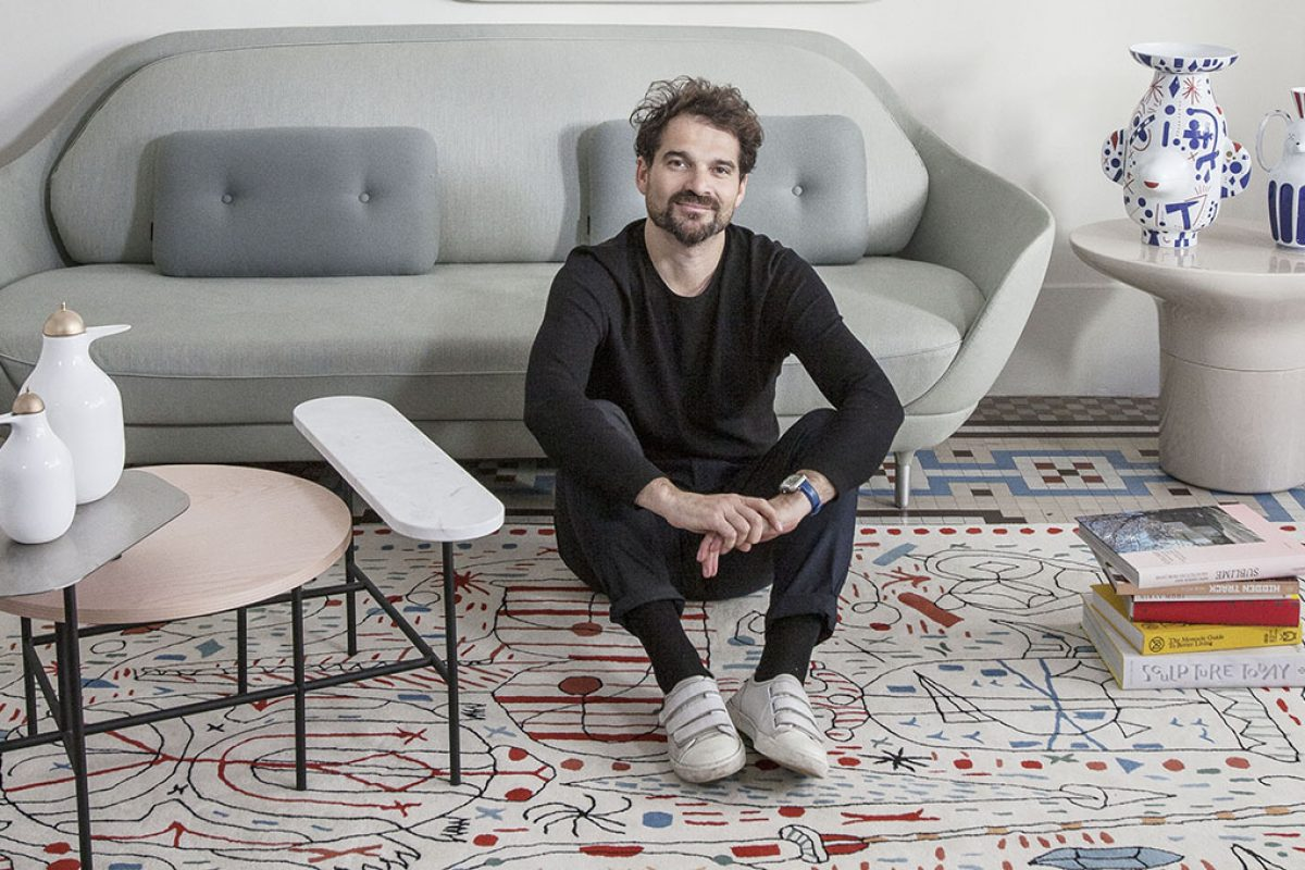 Hayon x Nani, a dreamy, wild rug collection with a great sense of humour by Jaime Hayon for nanimarquina