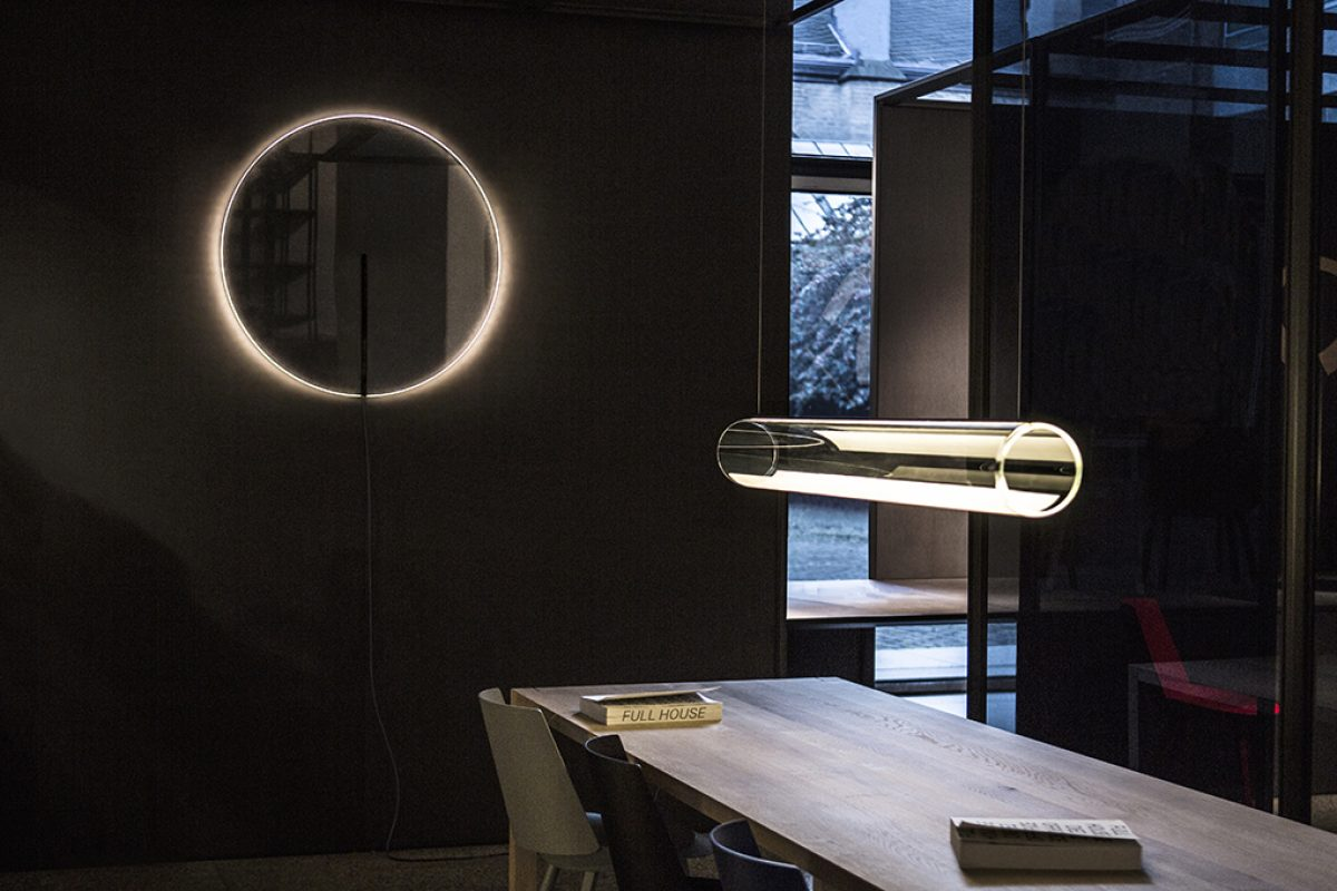 Guise by Stefan Diez for Vibia. A poetic expression of craft, light, technology and mood