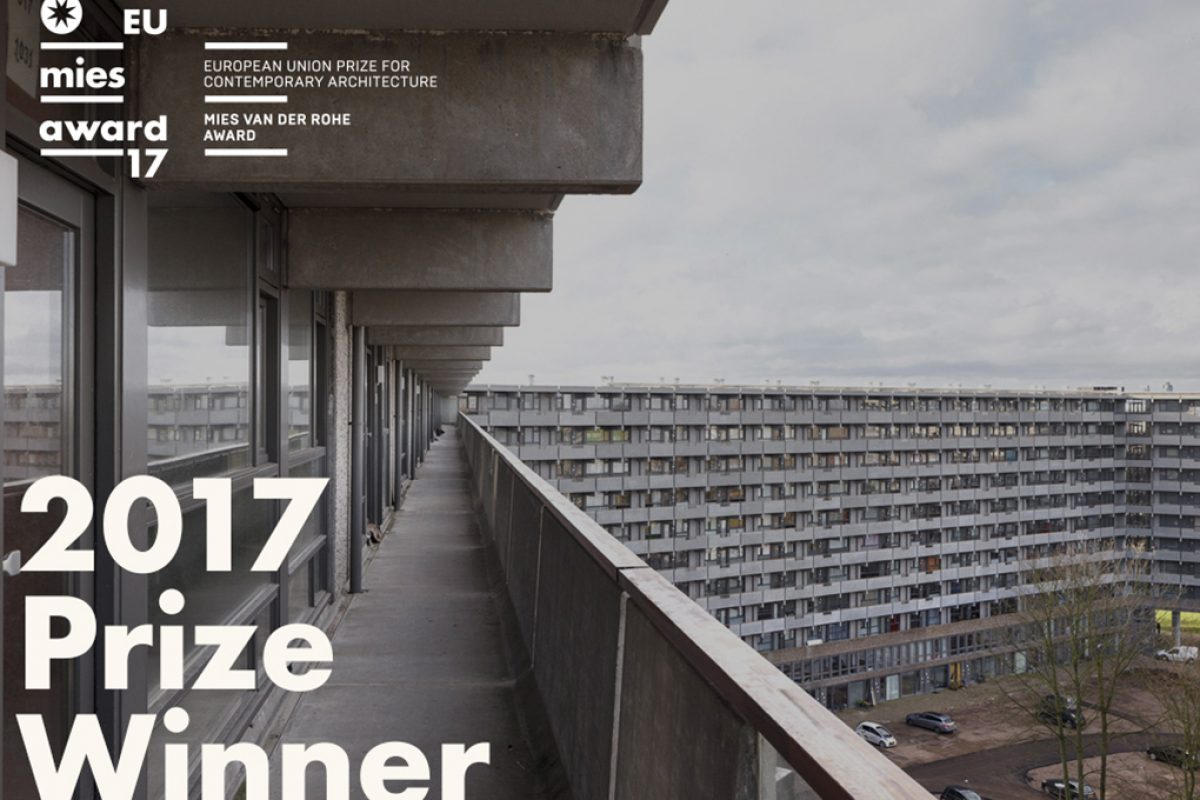 The innovative renovation of apartments bulding by NL architects and XVW architectuur, wins the EU Prize for Contemporary Architecture – Mies Van Der Rohe Award 2017
