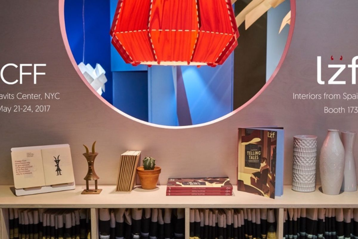 LZF's New Collections travel to the ICFF New York 2017