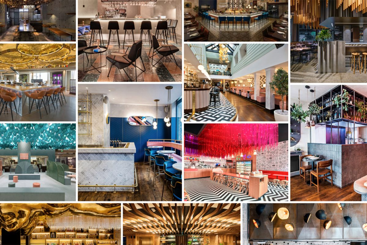 Shortlist announced for awards to the best designed Restaurants and Bars of 2016/2017