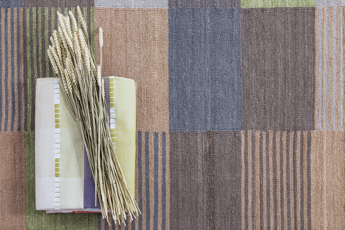 Blend by nanimarquina, the obsession with colour of Dutch studio Raw Color