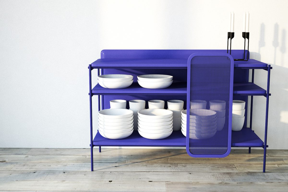 Salines, Mediterranean style in the new container system designed by edeestudio for Neomo