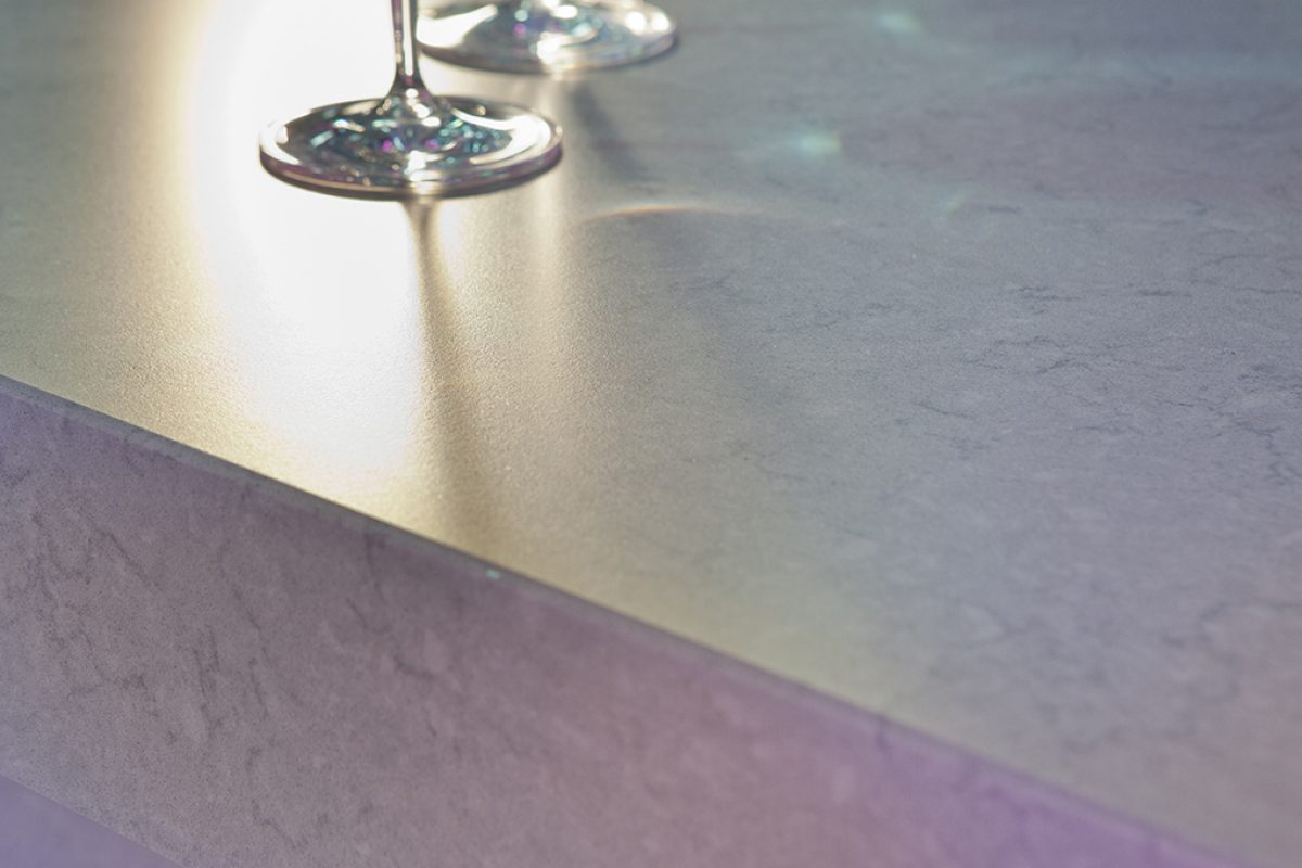 Suede, the innovative velvety Silestone® texture